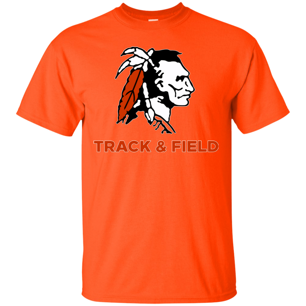 Men's Cotton T-Shirt - Cambridge Track & Field - Indian Logo