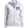 Women's Full-Zip Hooded Sweatshirt - D3Football.com