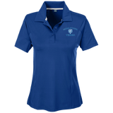 Women's Solid Polo - Middletown Tennis - Bear Logo