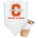 Doggie Bandana - Cambridge Track & Field - C Logo