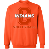Crewneck Sweatshirt - Cambridge Volleyball - C Logo