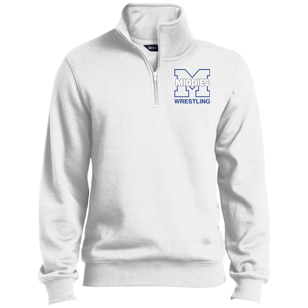 Men's Quarter Zip Sweatshirt - Middletown Wrestling