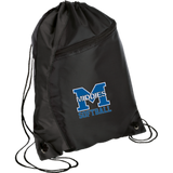 Drawstring Bag with Zippered Pocket - Middletown Softball