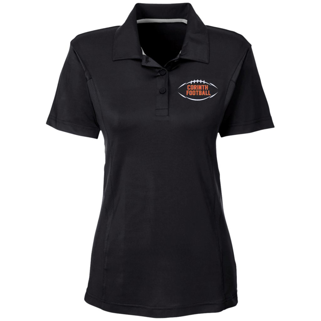 Women's Solid Polo - Corinth Football