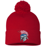 Pom Pom Knit Winter Hat - Goshen Helmet