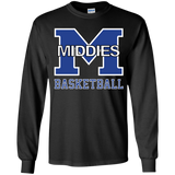 Youth Long Sleeve T-Shirt - Middletown Girls Basketball