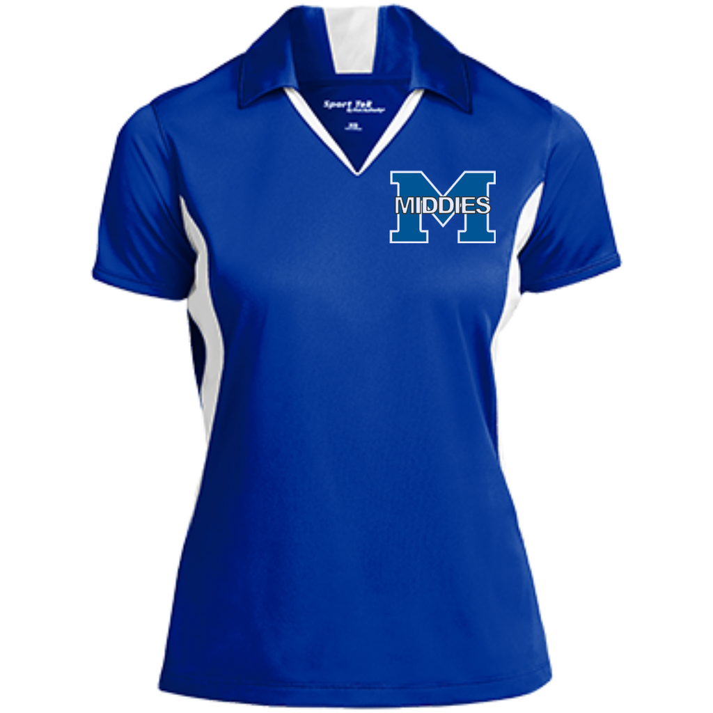 Women's Moisture Wicking Polo - Middletown Middies