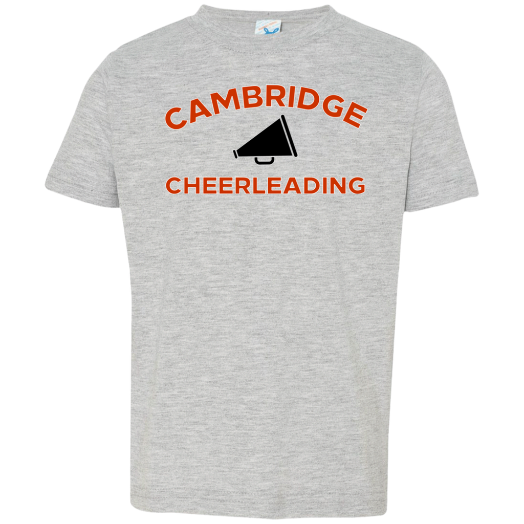 Toddler T-Shirt - Cambridge Cheerleading