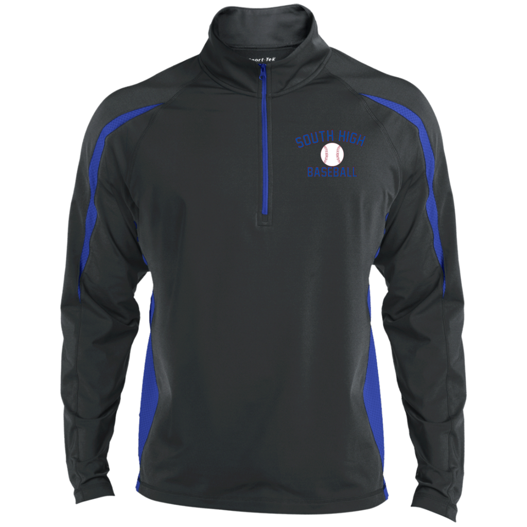 Men's Sport Wicking Half-Zip - South Glens Falls Baseball