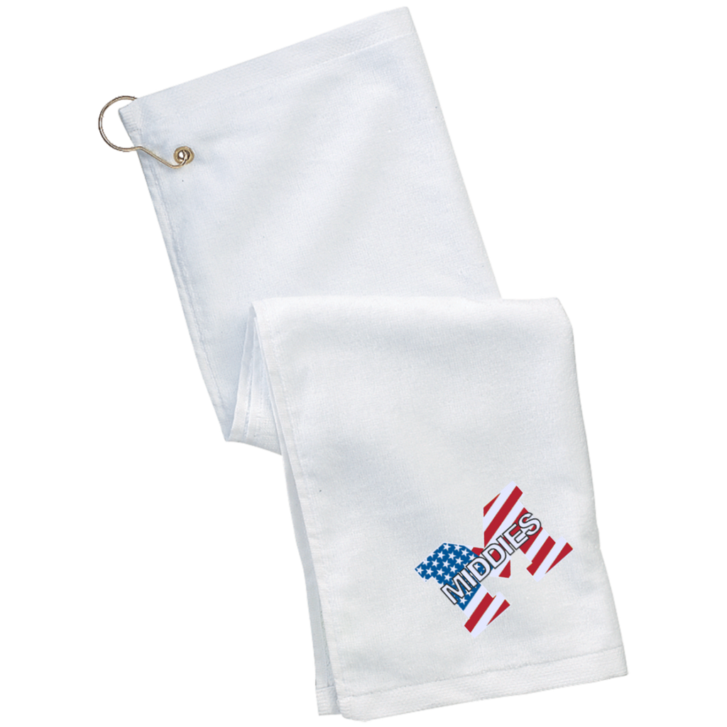 Golf Towel - Middletown American Flag