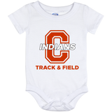 Baby Onesie 12 Month - Cambridge Track & Field - C Logo