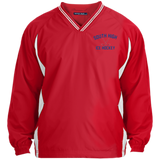 Youth Colorblock V-Neck Pullover - South Glens Falls Ice Hockey