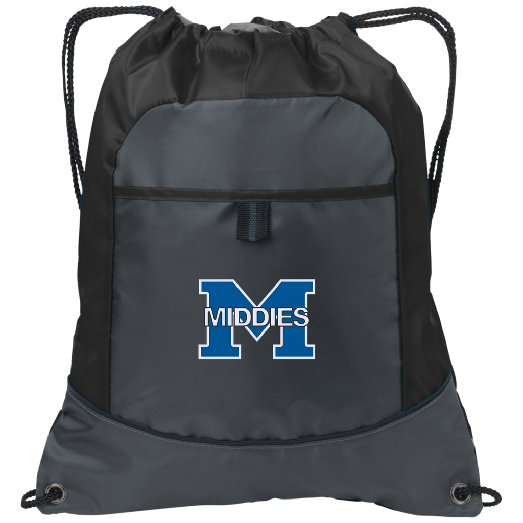 Drawstring Bag with Pocket - Middletown Middies