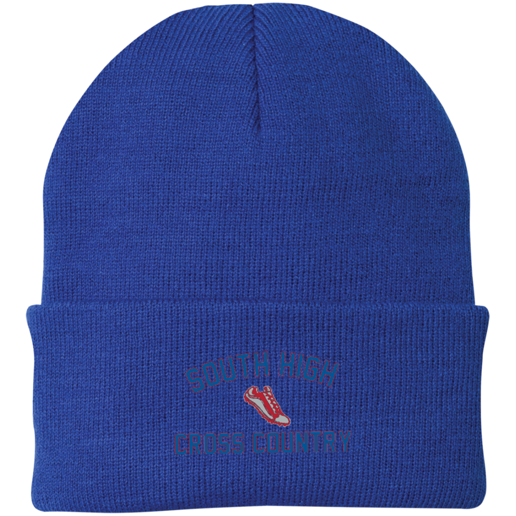 Knit Winter Hat - South Glens Falls Cross Country