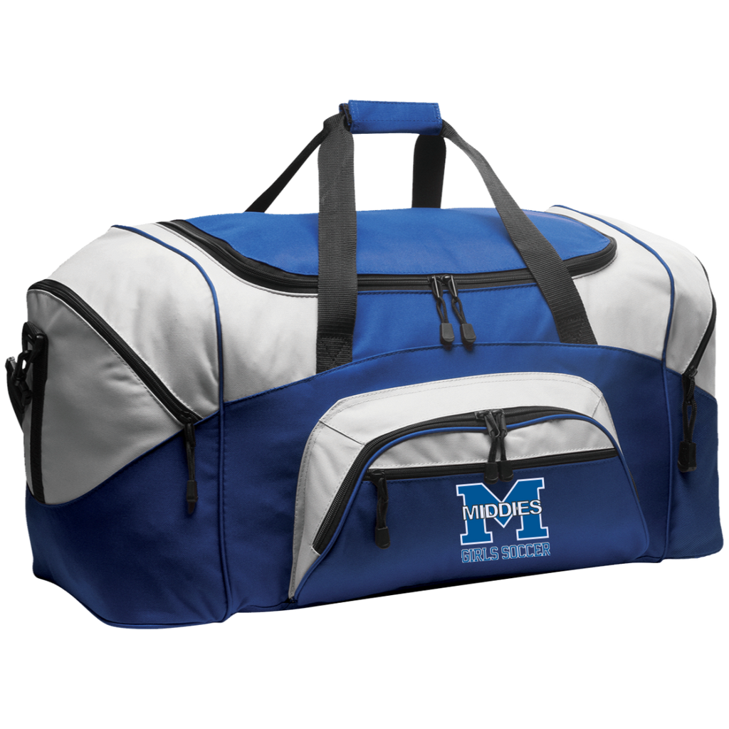 Large Duffel Bag - Middletown Middie Girls Soccer
