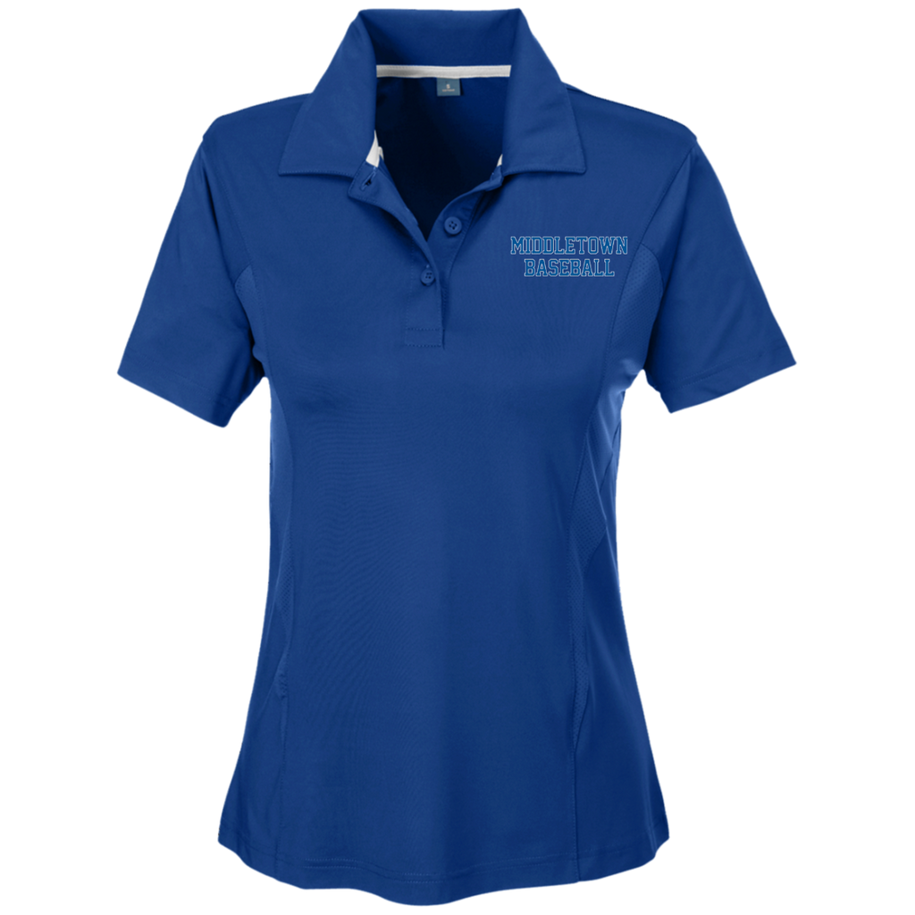 Women's Solid Polo - Middletown Baseball