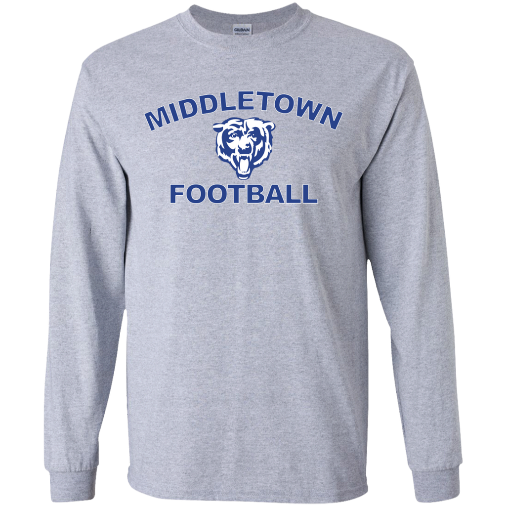 Youth Long Sleeve T-Shirt - Middletown Football