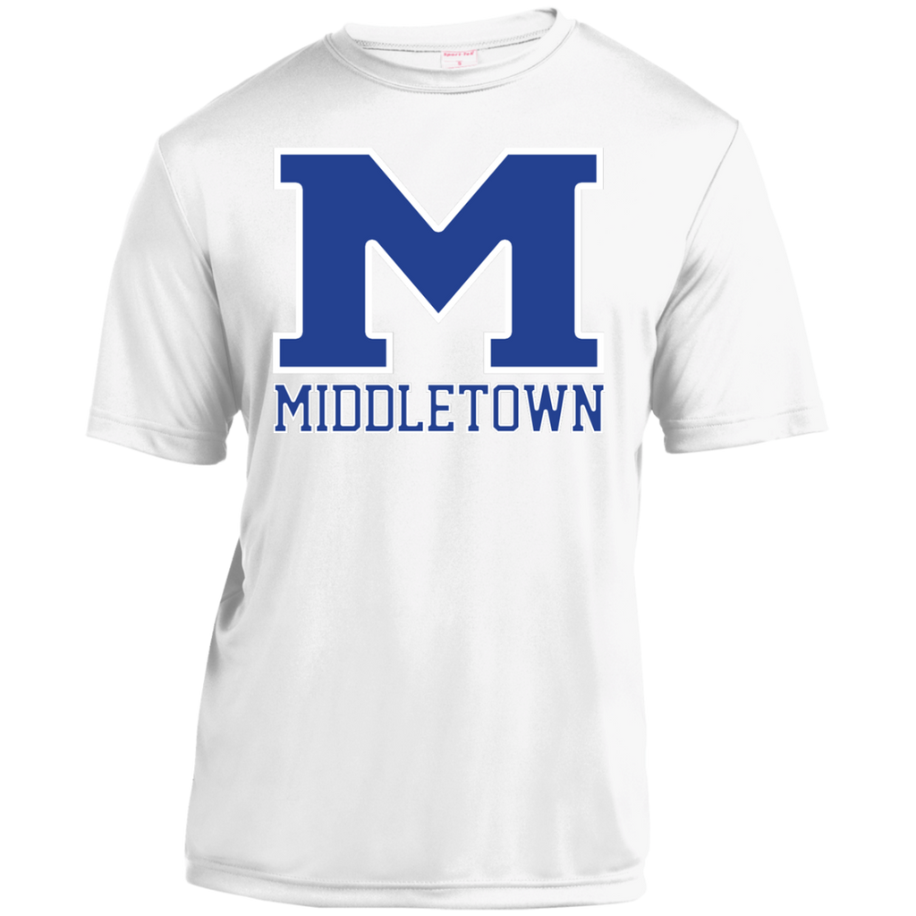 "Youth Moisture Wicking T-Shirt - Middletown ""M"""