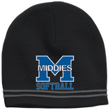 Colorblock Beanie - Middletown Softball