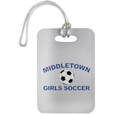 Luggage Bag Tag - Middletown Girls Soccer