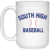15 oz. Coffee Mug - South Glens Falls Baseball