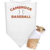 Doggie Bandana - Cambridge Baseball