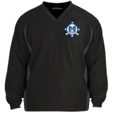 Colorblock V-Neck Pullover - Middletown Baseball - Diamond Logo