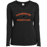 Women's Moisture Wicking Long Sleeve T-Shirt - Cambridge Wrestling