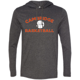 Men's T-Shirt Hoodie - Cambridge Basketball
