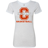 Women's Premium T-Shirt - Cambridge Basketball - C Logo