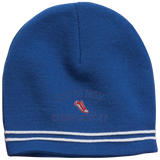 Colorblock Beanie - South Glens Falls Cross Country