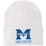 Knit Winter Hat - Middletown Middie Girls Soccer