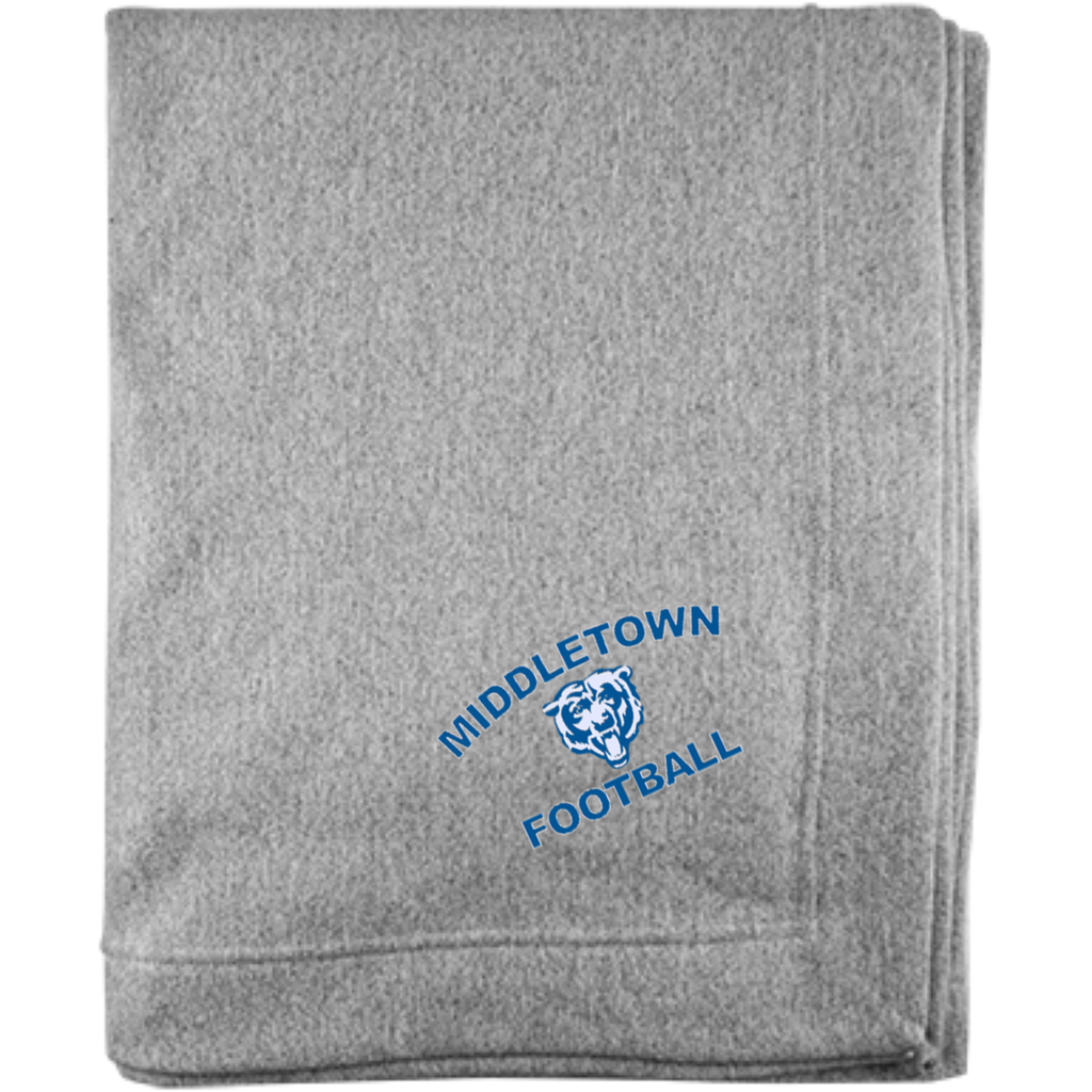 Sweatshirt Blanket - Middletown Football