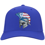 Flex Fit Twill Hat - Goshen American Flag
