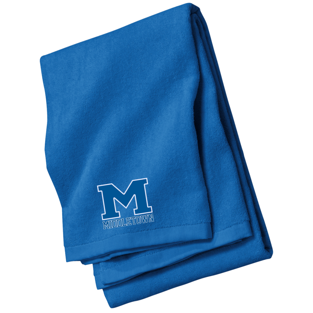 "Beach Towel - Middletown ""M"""