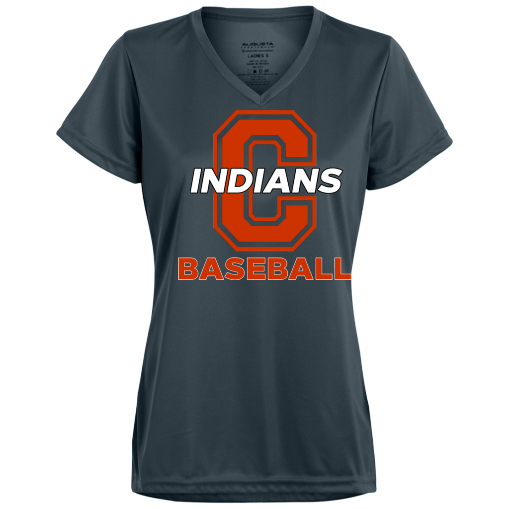 Women's Moisture Wicking T-Shirt - Cambridge Baseball - C Logo
