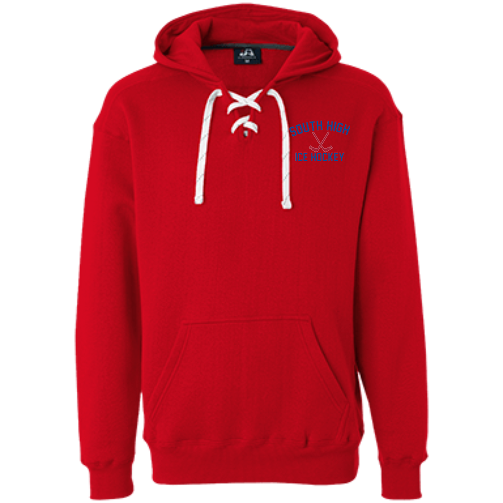Sport Lace Hooded Sweatshirt - South Glens Falls Ice Hockey