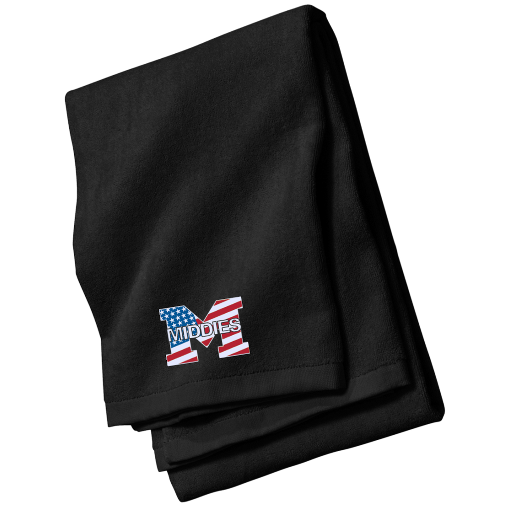 Beach Towel - Middletown American Flag