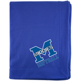 Sweatshirt Blanket - Middletown Softball