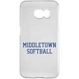 Samsung Galaxy S6 Edge Case - Middletown Softball - Block Logo
