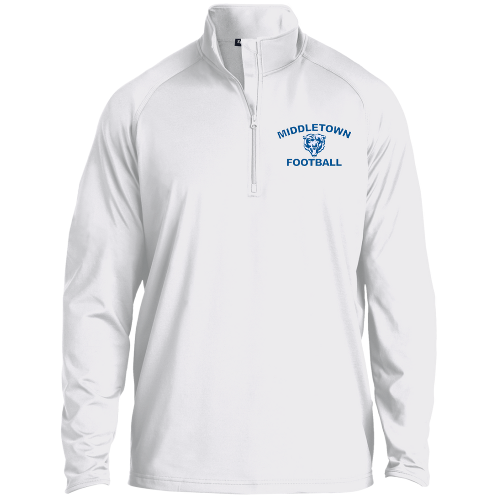 Men's Performance Quarter Zip Sweatshirt - Middletown Football