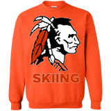 Crewneck Sweatshirt - Cambridge Skiing - Indian Logo