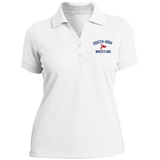 Wrestling Vector Logo v2 Outline_Pantone 286772 Ladies Nike® Dri-Fit Polo Shirt