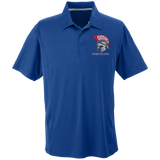 Men's Solid Moisture Wicking Polo - Goshen Wrestling