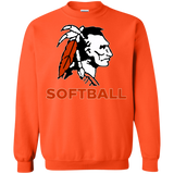 Crewneck Sweatshirt - Cambridge Softball - Indian Logo