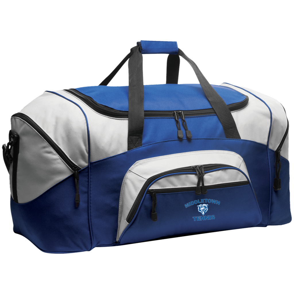 Large Duffel Bag - Middletown Tennis - Bear Logo