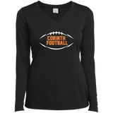 Women's Moisture Wicking Long Sleeve T-Shirt - Corinth Football