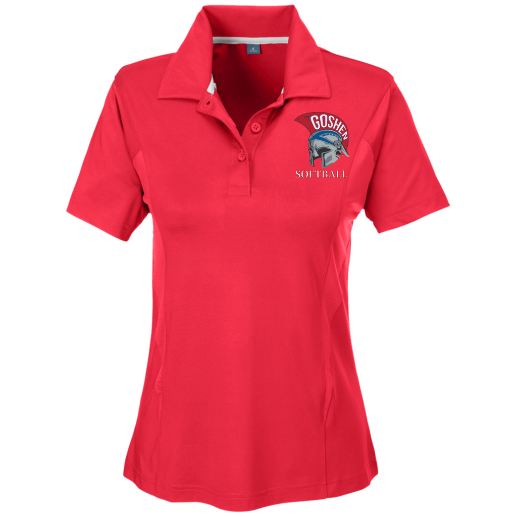 Women's Solid Polo - Goshen Softball