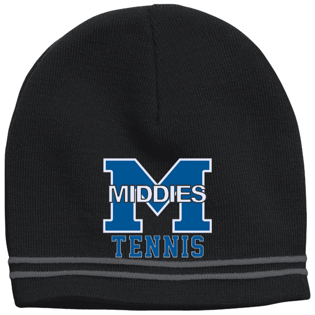 Colorblock Beanie - Middletown Tennis