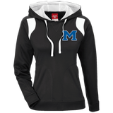 Women's Colorblock Hooded Sweatshirt - Middletown Block